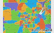 Political Map of ZIP code 95652