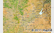Satellite Map of ZIP code 95652