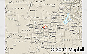 Shaded Relief Map of ZIP code 95652