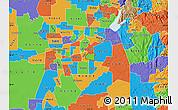 Political Map of ZIP code 95655