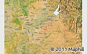 Satellite Map of ZIP code 95655