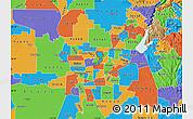 Political Map of ZIP code 95660