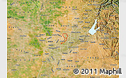 Satellite Map of ZIP code 95660