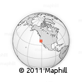 Outline Map of ZIP Code 95660