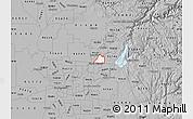 Gray Map of ZIP code 95661