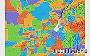Political Map of ZIP code 95661