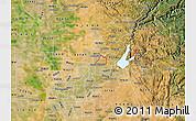 Satellite Map of ZIP code 95661