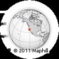 Outline Map of ZIP Code 95661