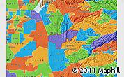Political Map of ZIP code 95669