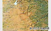 Satellite Map of ZIP code 95669