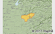 Savanna Style Map of ZIP code 95669