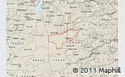 Shaded Relief Map of ZIP code 95669