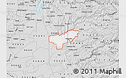 Silver Style Map of ZIP code 95669