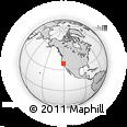 Outline Map of ZIP Code 95669