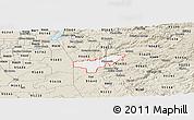 Classic Style Panoramic Map of ZIP code 95669