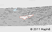 Gray Panoramic Map of ZIP code 95669