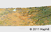 Satellite Panoramic Map of ZIP code 95669