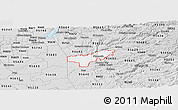 Silver Style Panoramic Map of ZIP code 95669