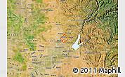 Satellite Map of ZIP code 95677