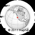 Outline Map of ZIP Code 95677