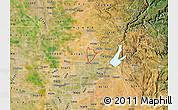 Satellite Map of ZIP code 95678