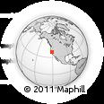 Outline Map of ZIP Code 95678