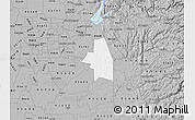 Gray Map of ZIP code 95683
