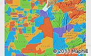 Political Map of ZIP code 95683