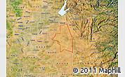 Satellite Map of ZIP code 95683