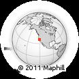 Outline Map of ZIP Code 95683