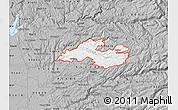 Gray Map of ZIP code 95684