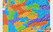 Political Map of ZIP code 95684