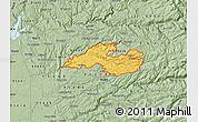 Savanna Style Map of ZIP code 95684