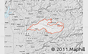 Silver Style Map of ZIP code 95684