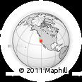 Outline Map of ZIP Code 95684