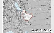 Gray Map of ZIP code 95688