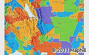 Political Map of ZIP code 95688