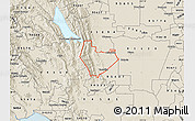 Shaded Relief Map of ZIP code 95688