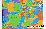 Political Map of ZIP code 95691