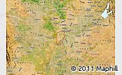Satellite Map of ZIP code 95691