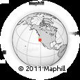 Outline Map of ZIP Code 95691