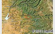 Satellite Map of ZIP code 95709