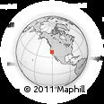 Outline Map of ZIP Code 95709