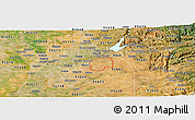 Satellite Panoramic Map of ZIP code 95742