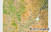 Satellite Map of ZIP code 95747