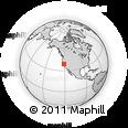 Outline Map of ZIP Code 95747