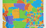 Political Map of ZIP code 95776