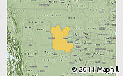 Savanna Style Map of ZIP code 95776