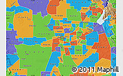 Political Map of ZIP code 95814