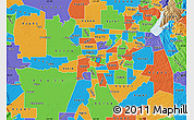 Political Map of ZIP code 95816